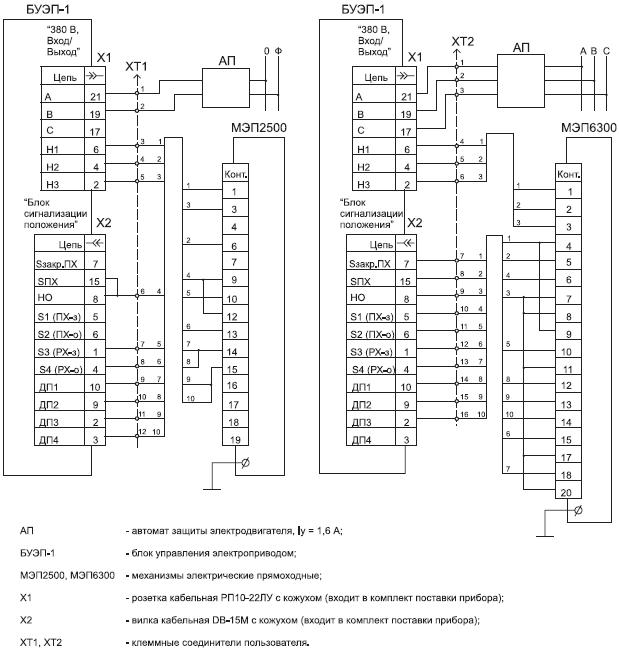 Рисунок V.1.10 Схема