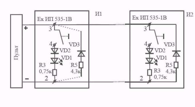 Рис. 2 Схема включения